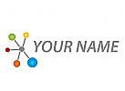 Zeichen, Zeichnung, Viele Kreise, Netzwerk, Kreise, Logo