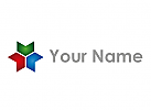 Ziel, Drei Pfeile, farbig Logo