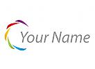 Spirale, farbig Logo
