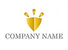 Zeichen, Skizze, Wappen, Gold, Finanzen, Versicherungen, Logo