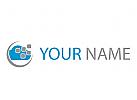 Wolke, Cloud, Daten Logo