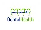 Zahn Logo, Zahnarzt Logo, Zahnprothetik Logo