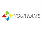 Spirale, Blume, Digital, Musik Logo