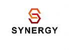 Logo, Synergy, Buchstabe, S