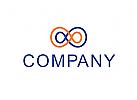 Logo, Unendlich, Zahl, 8, Verbindung, Einheit