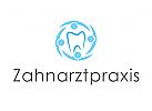 Logo, Zahnarztpraxis, Behandler