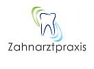 Logo, Zahnarztpraxis, Zahn, Boge