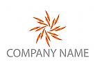 Stern, Sonne, Digital Logo