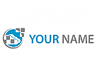 Wolke, Cloud und Rechtecke Logo