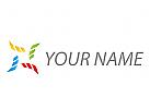 Zeichen, Skizze, Rechtecke, Pixel, farbig, Logo