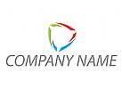 Zeichen, Zeichnung, Verbindung, Technologie, Dreieck, farbig, Logo