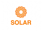 Stern Logo, Sonne Logo, Gold, Hotel