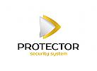 Sicherheit Logo, Geld Logo, Finanzen Logo, Bank Logo