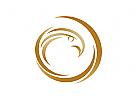 Logo, Adler, Falke, Phoenix