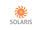 Stern Logo, Sonne Logo, Gold Logo