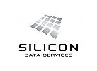 Daten Logo, Technologie Logo, Internet Logo, Industrie Logo