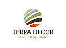 Dekor Logo, Möbel Logo, Interieur Logo, Land Logo