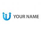 Initial, Buchstabe U, U, Häuser Logo
