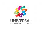 Büro Logo, Papier Logo, Versicherung Logo, Dokument Logo, Drucken Logo