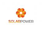 Energie Logo, Sonne Logo, Umwelt Logo