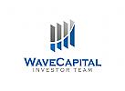 Investitionen Logo, Finanzen Logo, Versicherungen Logo, Immobilien Logo