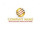 Gold Logo, Goldbarren Logo, Finanzen Logo