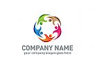 Menschen Logo, Gruppe Logo, Beratung Logo