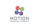 Menschen Logo, Beratung Logo, Anzeigen Logo