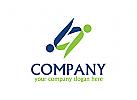 Menschen Logo, Beratung Logo, Rechtsanwalt Logo