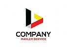 Architektur Logo, Bau Logo, Makler Logo, Immobilien Logo