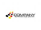Technologie Logo, Punkt Logo, Druckerei Logo