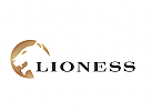 Logo, Löwe, Lioness