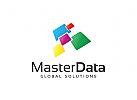 Daten Logo, Technologie Logo, Internet Logo