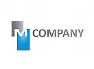 Logo, Buchstabe, M