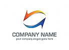Pfeile Logo, Richtung Logo, Geld Logo, Finanzen Logo