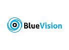 Auge Logo,  Augenarzt Logo, Vision, Optik