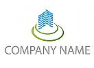 Ökohaus, Immobilien, Grundstücke, Architektur, Bau Logo