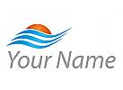 Sonne und Wasser, Wellen Logo