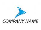 Pfeil, Richtung, Flieger, Flugzeug Logo