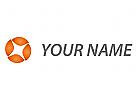 Vision, Technologie, Kreis, Daten Logo