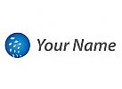 Kugel und Pixel Logo