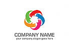Kinder Logo, Hände Logo, Pflege Logo, Handhabung Logo, Beratung Logo