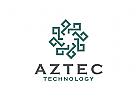 Technologie Logo, Software Logo, Robotik Logo