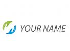 Zwei Hände, Helfer Logo