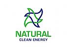 Energie Logo, Natur Logo