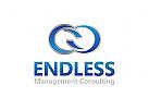 Unendlichkeit Logo, Finanzen Logo, Beratung Logo