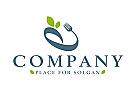 Logo gesund, logo ernährung, logo frisch