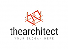 Abstract estate architect logo