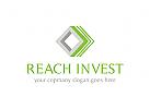 Versicherungen Logo, Geld Logo, Investition Logo, Bank Logo