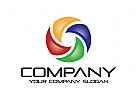 Sozial Logo, Technologie Logo, Kamera Logo